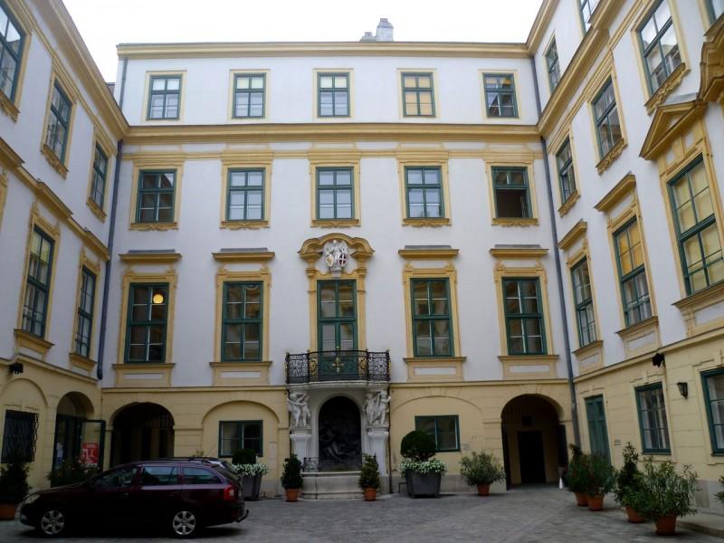 Внутренний двор Старой ратуши