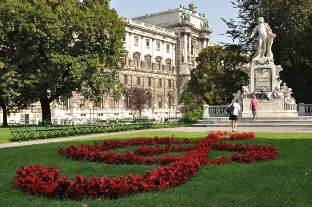 Памятник Моцарту (Mozart-Denkmal)