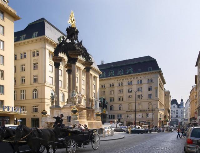 Площадь  Высокий рынок (Hoher Markt)