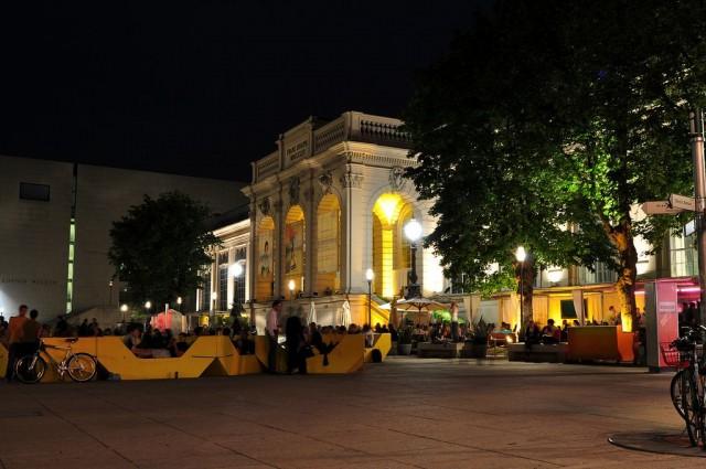 Музейный квартал (MuseumsQuartier Wien)