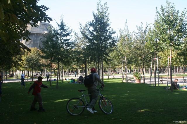 Парк Аугартен (Park Augarten)