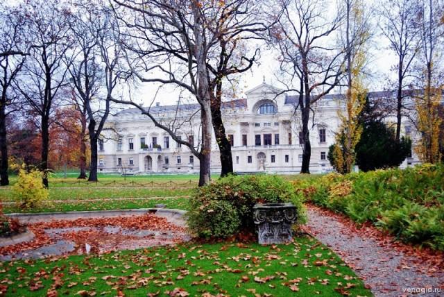 Садовый дворец князя Лихтенштейна (Gartenpalais Liechtenstein)
