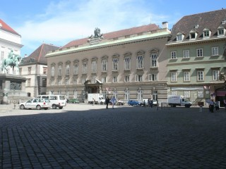 Йозефсплац в Вене