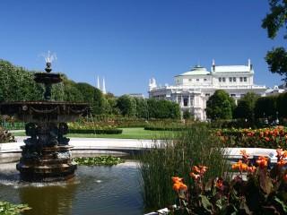 Народный сад в Вене