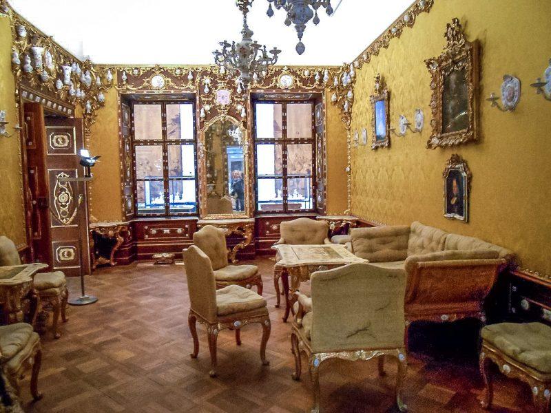 Салон в стиле рококо