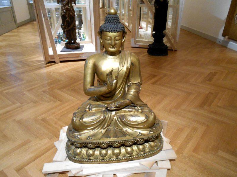 Будда Шакьямуни из династии Цин