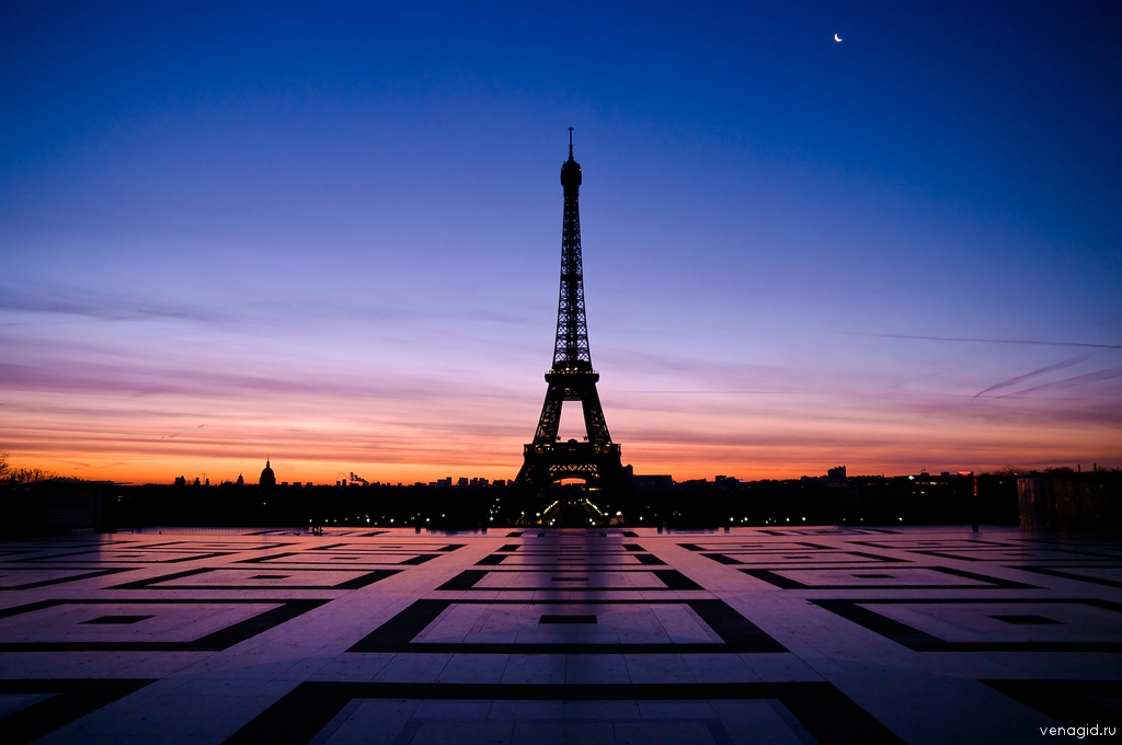 Эйфелева башня в Париже: venagid.ru/3087-parizh-gorod-zagadochnoj-i-velikolepnoj-istorii