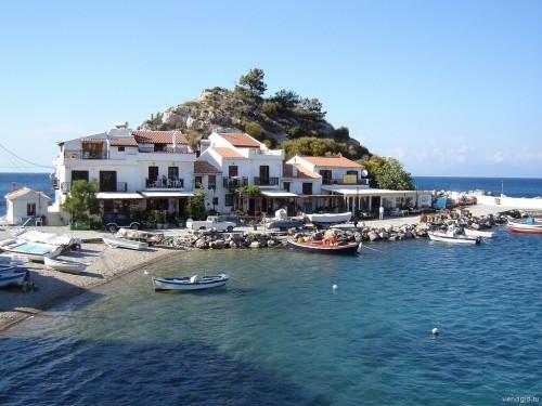 Остров Самос Греция