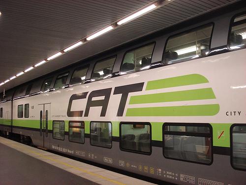 City Airport Train Поезд аэропорт Вена