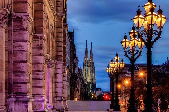Экскурсия по вечерней Вене