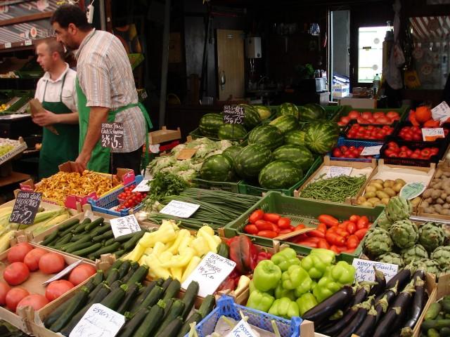 Продуктовый рынок Naschmarkt
