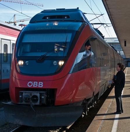 Вена железная дорога