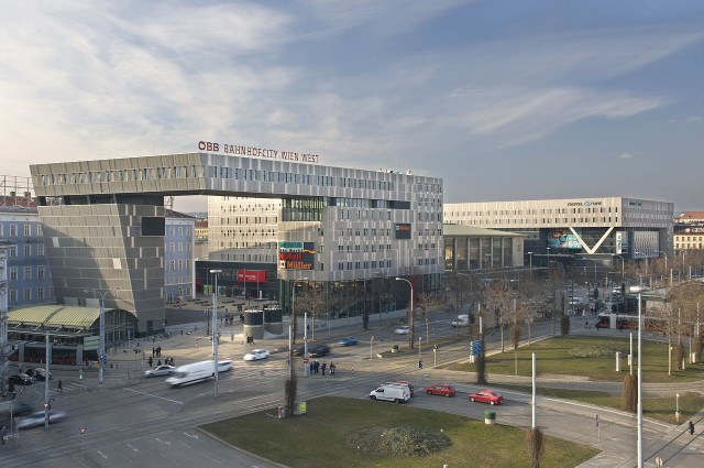 Западный железнодорожный вокзал (Westbahnhof)