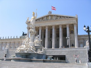 Видео: Парламент, Бургтеатр, Здание городского совета