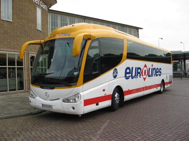 Автобус Прага - Вена Eurolines