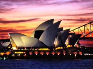 Посещение достопримечательных мест Австралии