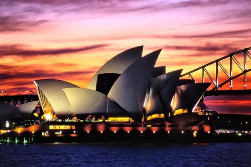 Посещение достопримечательных мест Австралии 1