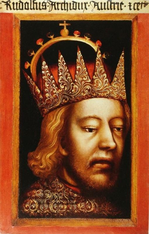 Портрет герцога Рудольфа IV Габсбургского (X. Вашанг, ок. 1365)