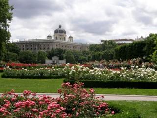 Парки в центре Вены