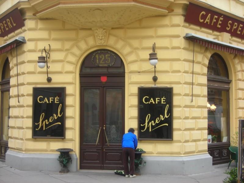 Культовое венское Café Sperl