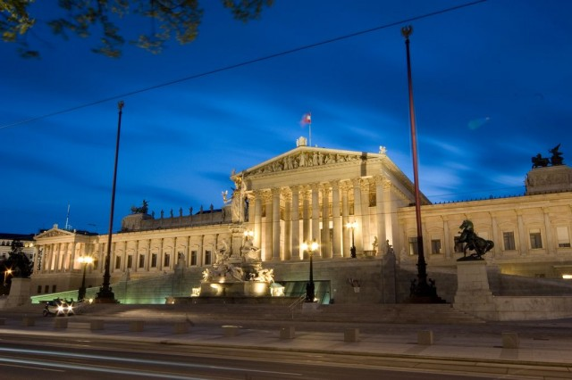 Здание парламента (Parlamentsgebäude)