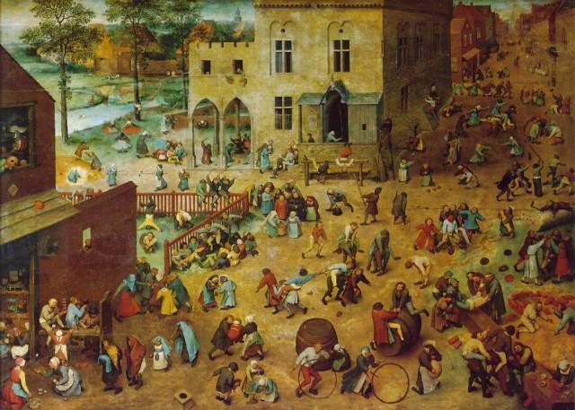 """""""Игры детей"""" Питер Брейгель, 1560"""