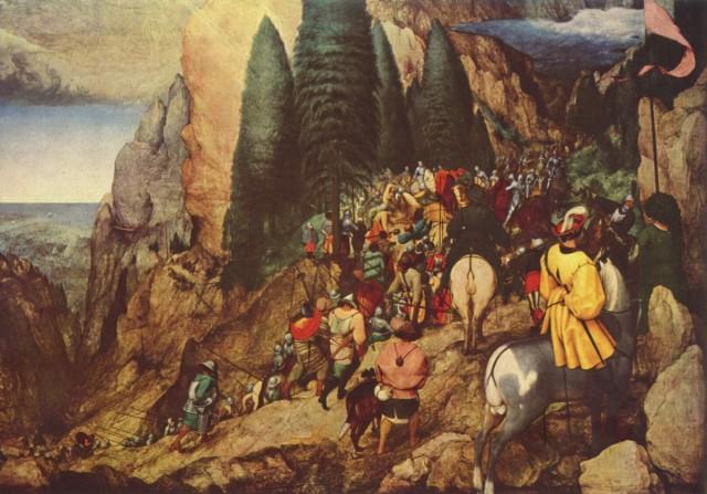 """""""Обращение Савла"""" Питер Брейгель, 1567"""