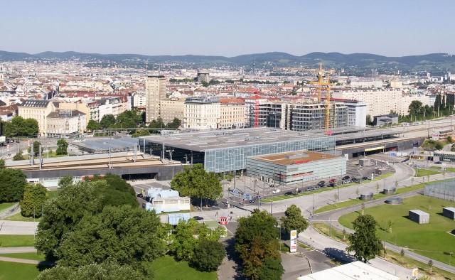 Северный вокзал Вены (Wien Praterstern)