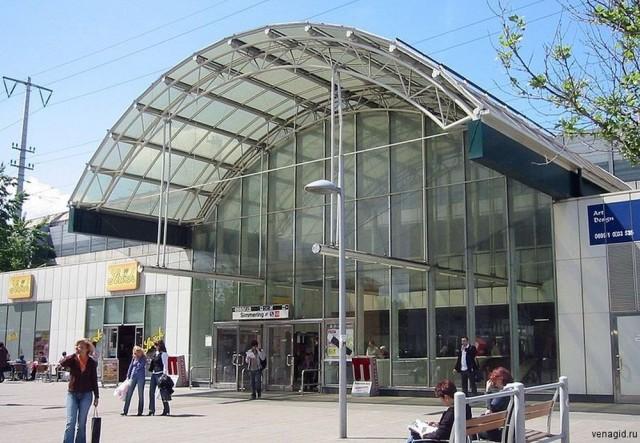Вокзал Wien Meidling Bahnhof
