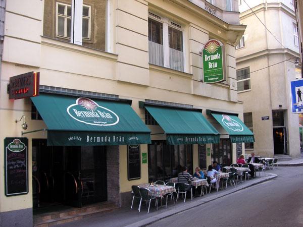 Ресторан Bermuda Bräu в Вене