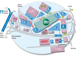 Торговый центр DEZ в Инсбруке