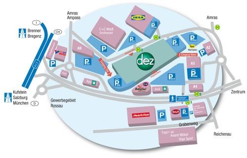 Торговый центр DEZ в Инсбруке 2