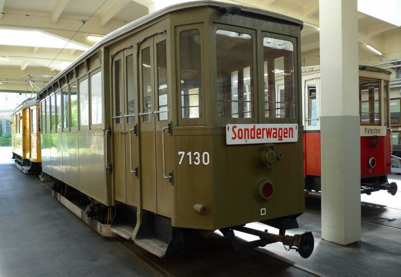 Музей трамваев (Straßenbahnmuseum)
