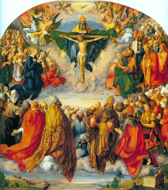 Алтарь Ландауэра. 1511. Музей истории искусства в Вене