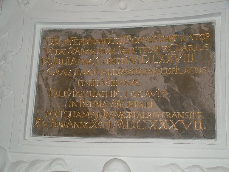 Мавзолей императора Фердинанда II (Mausoleum Kaiser Ferdinands II)