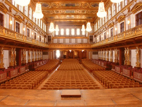 Золотой зал (Musikverein Goldener Saal)