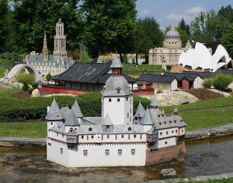 Музей миниатюрных мировых достопримечательностей «Минимундус» (Minimundus)