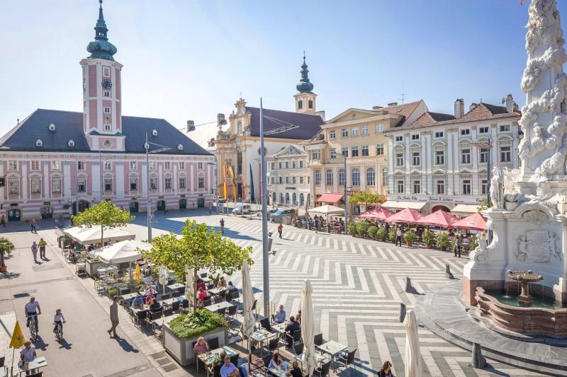 Ратушная площадь Санкт-Пёльтена
