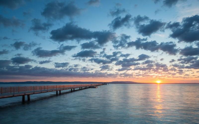 Закат на Боденском озере