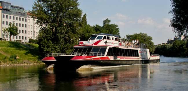 Кораблик по Дунаю