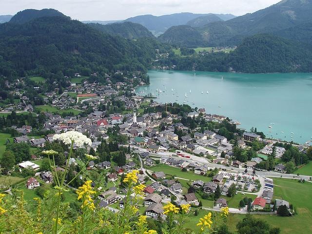 Городок Санкт-Гильген (Sankt Gilgen)