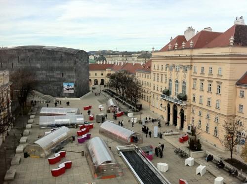 Венский музейный квартал (Museum Quarter)