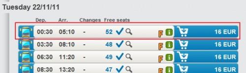 Покупка билетов на междугородний автобус 2