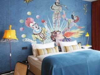 Необычный дизайн нового венского отеля 25Hours