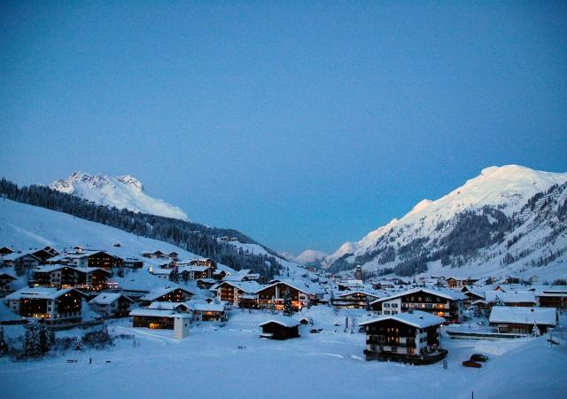 Горнолыжный курорт Lech am Arlberg