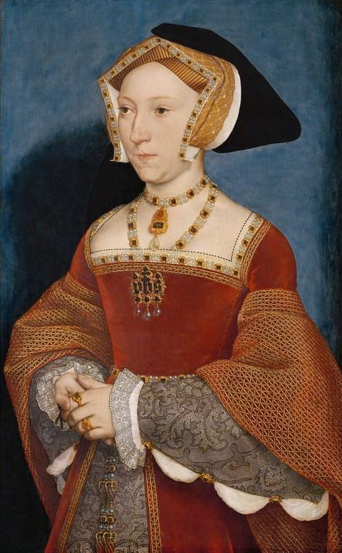 Ганс Гольбейн Младший Портрет Джейн Сеймур (1536г.) Музей истории искусств, Вена
