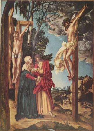 Лукас Кранах Старший «Распятие» (1502 г.) Вена, Музей истории искусств