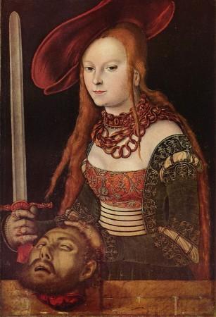Лукас Кранах Старший «Юдифь с головой Олоферна» (1530 г) Вена, Музей истории искусств