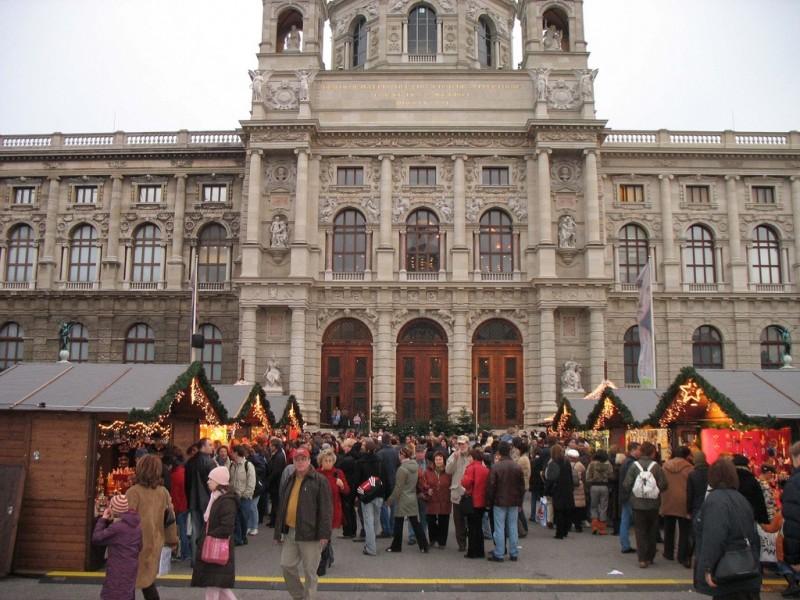 Рождественские базары Вены