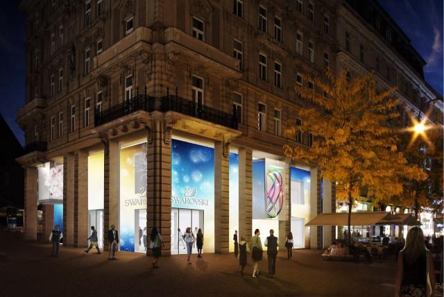 """Магазин """"Swarovski"""" в Вене"""